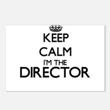 Keep calm I'm the Directo Postcards (Package of 8)