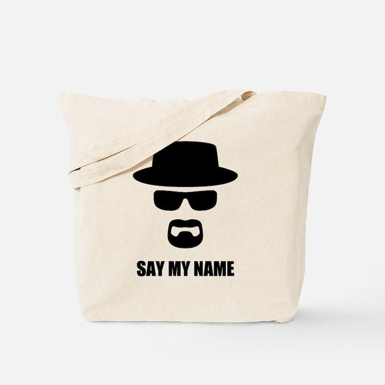Custom Text Heisenberg Logo Tote Bag