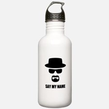 Custom Text Heisenberg Sports Water Bottle