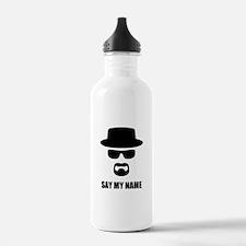 Custom Text Heisenberg Water Bottle