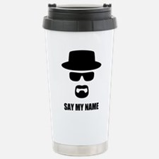 Custom Text Heisenberg Travel Mug