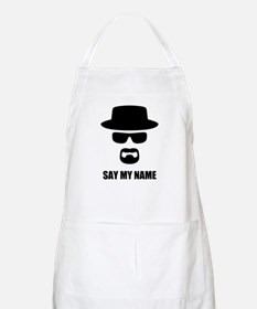 Custom Text Heisenberg Logo Apron
