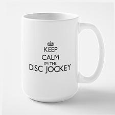 Keep calm I'm the Disc Jockey Mugs