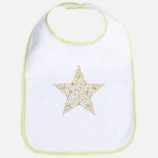 Beautiful Gold Star Bib