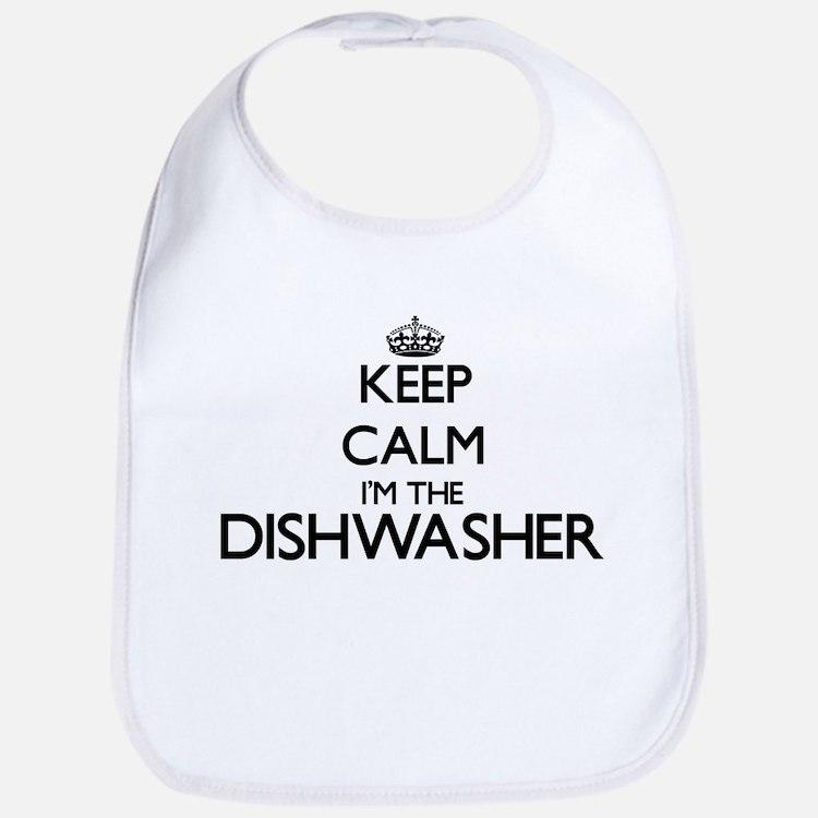 Keep calm I'm the Dishwasher Bib