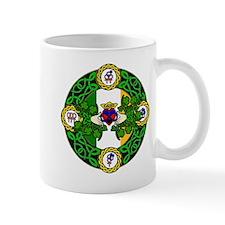 Poly Claddagh Brooch Mug