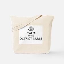 Keep calm I'm the District Nurse Tote Bag