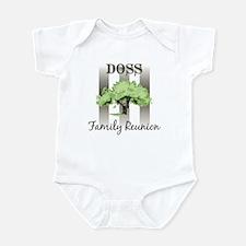 DOSS family reunion (tree) Infant Bodysuit