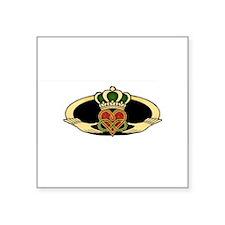 Poly Claddagh Medallion Sticker