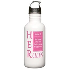 HER Rules #3 Water Bottle