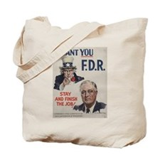 Unique Presidential campaign Tote Bag
