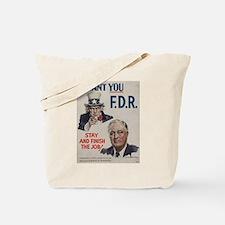 Cute Fdr Tote Bag