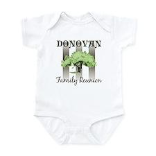 DONOVAN family reunion (tree) Infant Bodysuit
