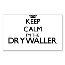 Keep calm I'm the Drywaller Decal