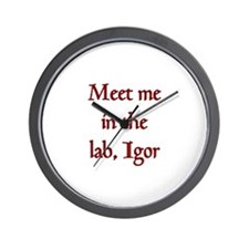 igor lab Wall Clock