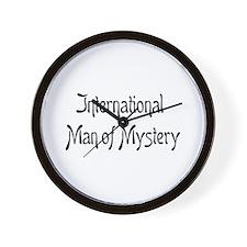 mystery man Wall Clock