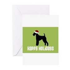 Cool Rescue dog christmas Greeting Cards (Pk of 20)