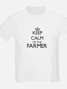 Keep calm I'm the Farmer T-Shirt