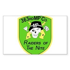363rd M.P. CO Decal