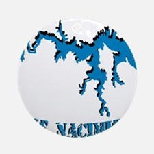 NACI_823_BLUE2.png Ornament (Round)