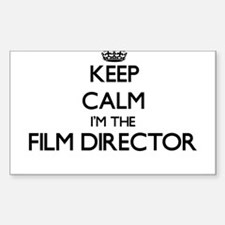 Keep calm I'm the Film Director Decal