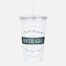 TVD - Mystic Grill blu Acrylic Double-wall Tumbler