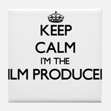 Keep calm I'm the Film Producer Tile Coaster