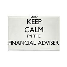 Keep calm I'm the Financial Adviser Magnets