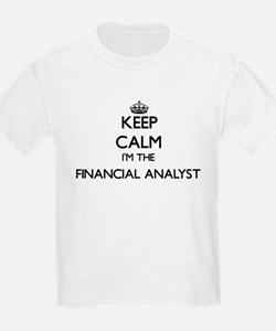 Keep calm I'm the Financial Analyst T-Shirt