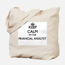 Keep calm I'm the Financial Analyst Tote Bag