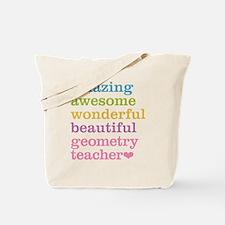 Geometry Teacher Tote Bag