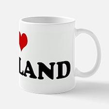 I Love PORTLAND Mug