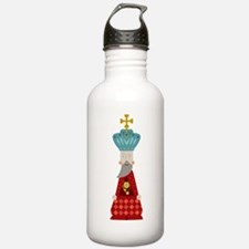 Chess King Water Bottle