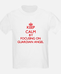 Keep Calm by focusing on Guardian Angel T-Shirt
