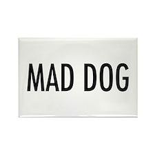"Pet Word ""Mad Dog"" Rectangle Magnet (100 pack)"