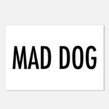 """Pet Word """"Mad Dog"""" Postcards (Package of 8)"""