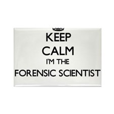 Keep calm I'm the Forensic Scientist Magnets