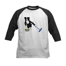 Border Collie Curling Tee
