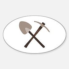 Shovel Ax Decal
