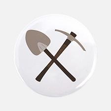 """Shovel Ax 3.5"""" Button"""