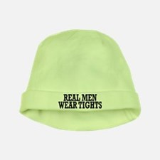Real men wear tights - baby hat