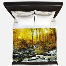 Autumn Creek King Duvet