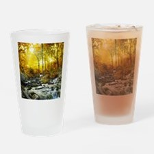 Autumn Creek Drinking Glass
