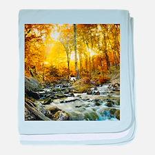 Autumn Creek baby blanket