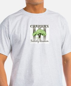 CHAPMAN family reunion (tree) T-Shirt