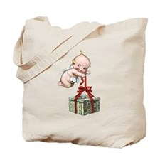 Merry Christmas Cupie Tote Bag