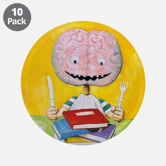 """2000 Children's Book Week 3.5"""" Button (10 Pac"""