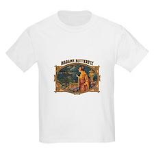 Madame Butterfly Kids T-Shirt