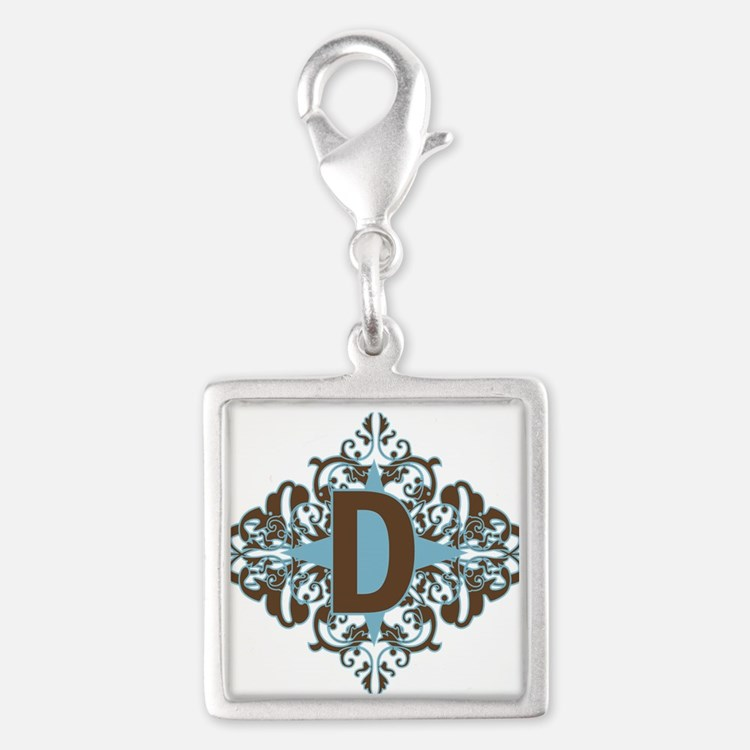 D Monogram Personalized Letter Charms
