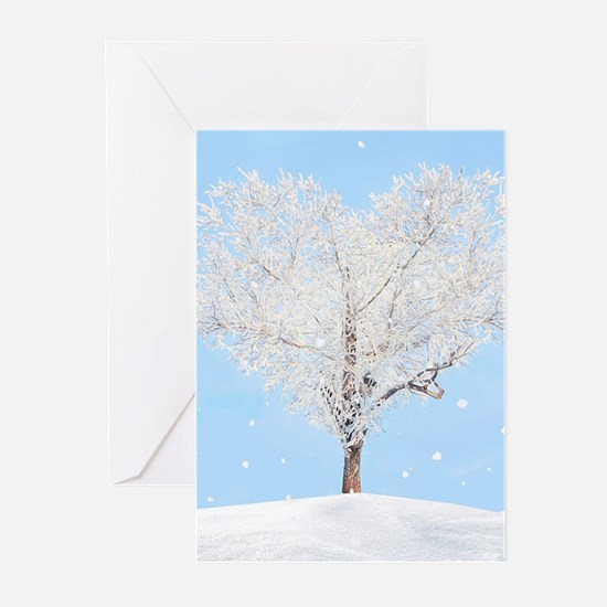 Tree of Love Greeting Cards